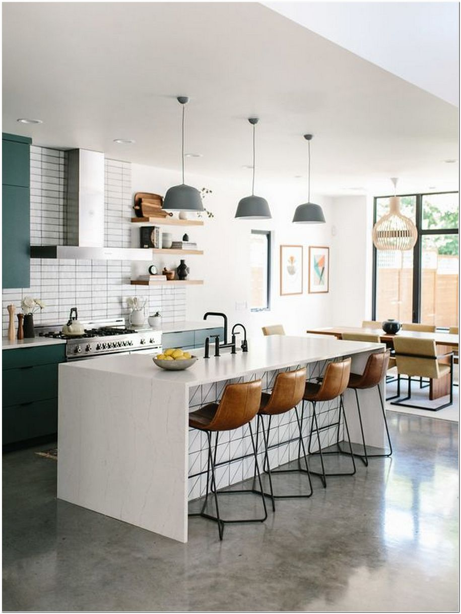 94+ Concrete Kitchen Flooring – The Right Choice For Your Home