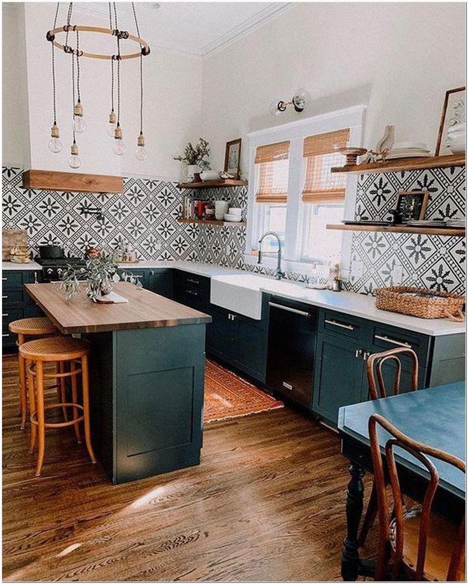 95+ Using Natural Ideas for Kitchens Design